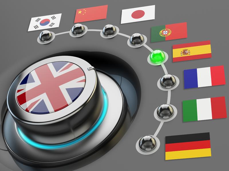 lingue più diffuse