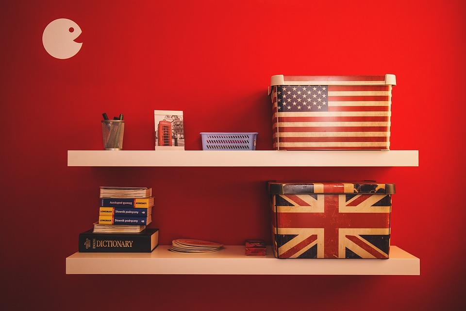 american british english